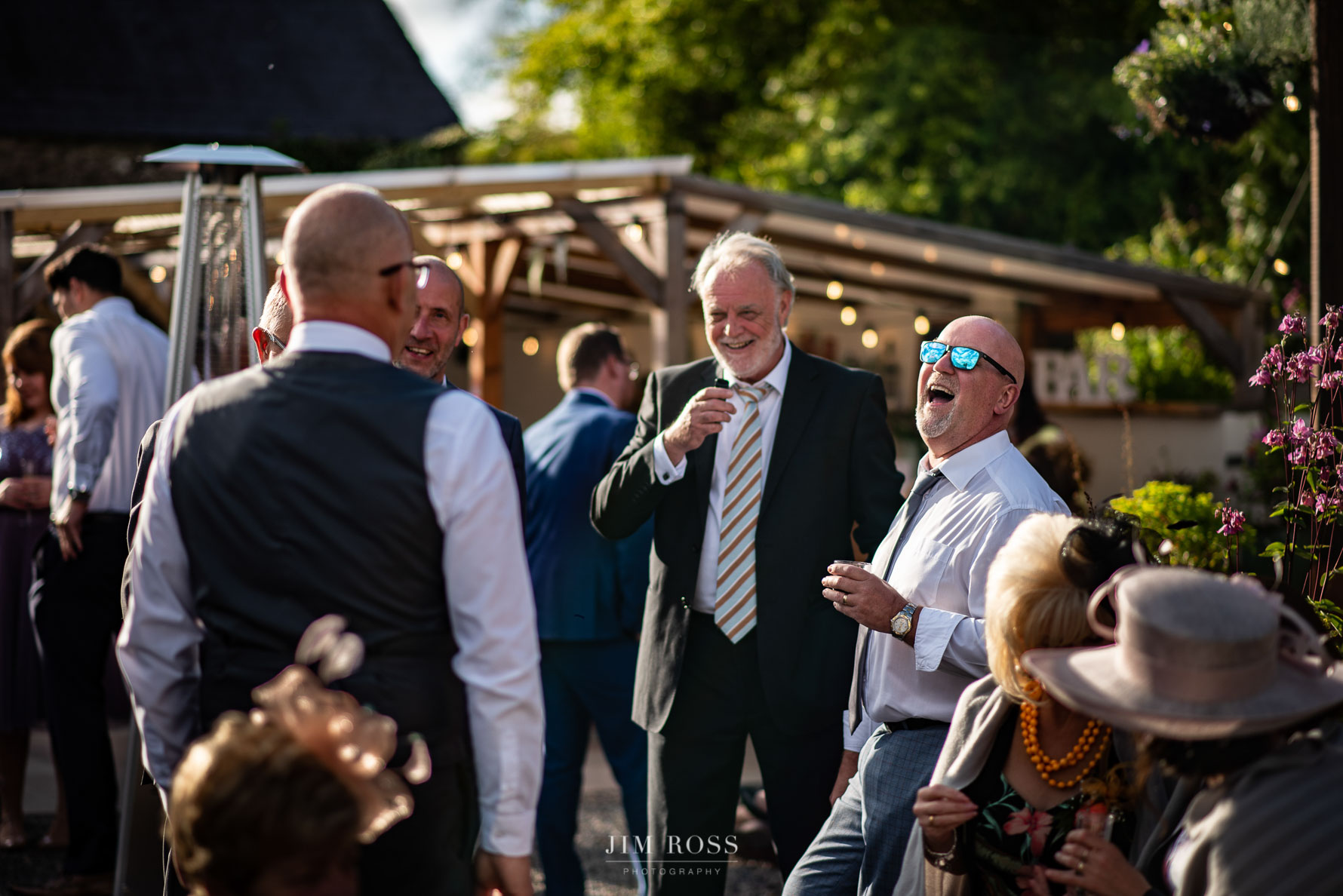 Welsh Yurt Wedding reception