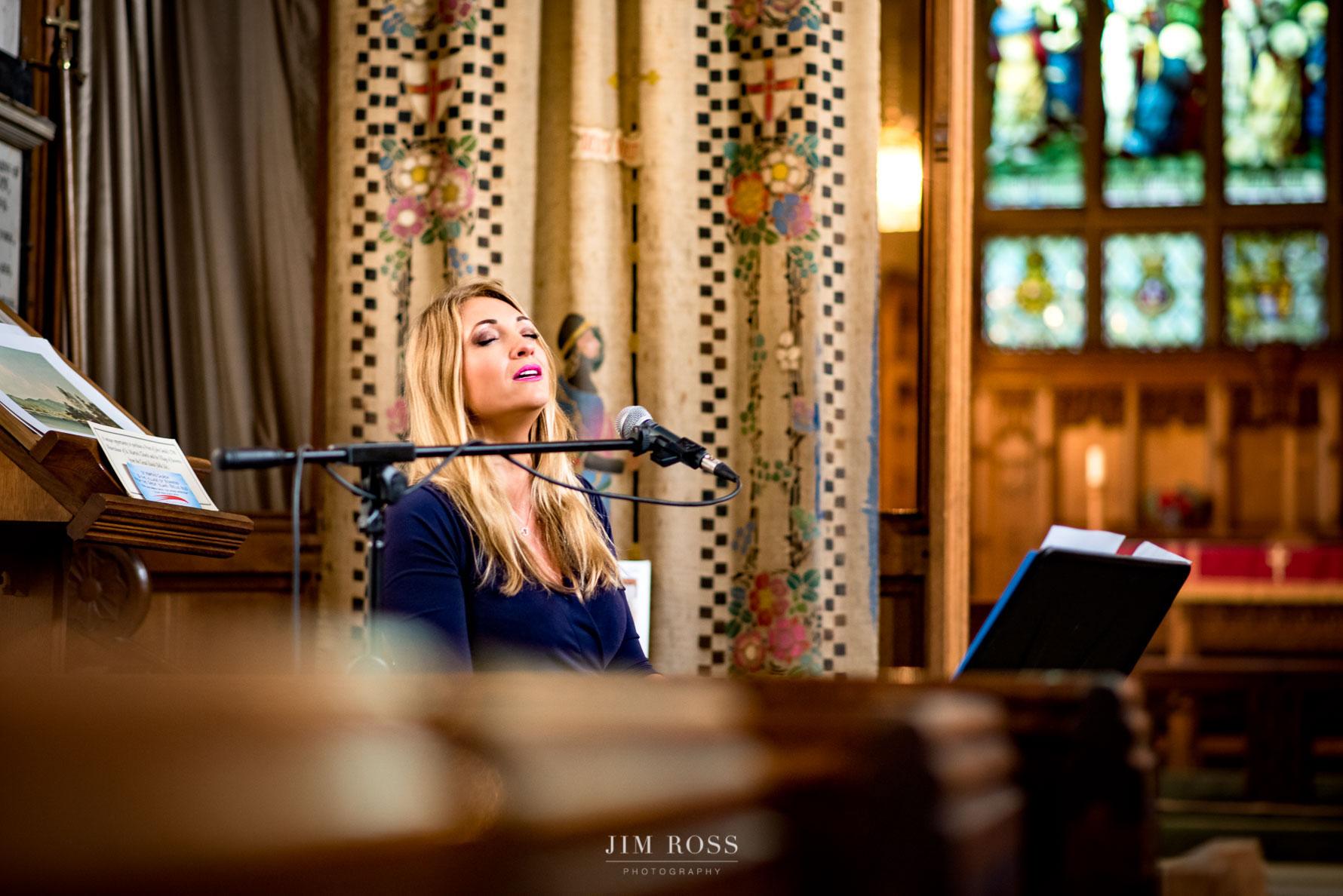 Jennie Sawdon wedding singer
