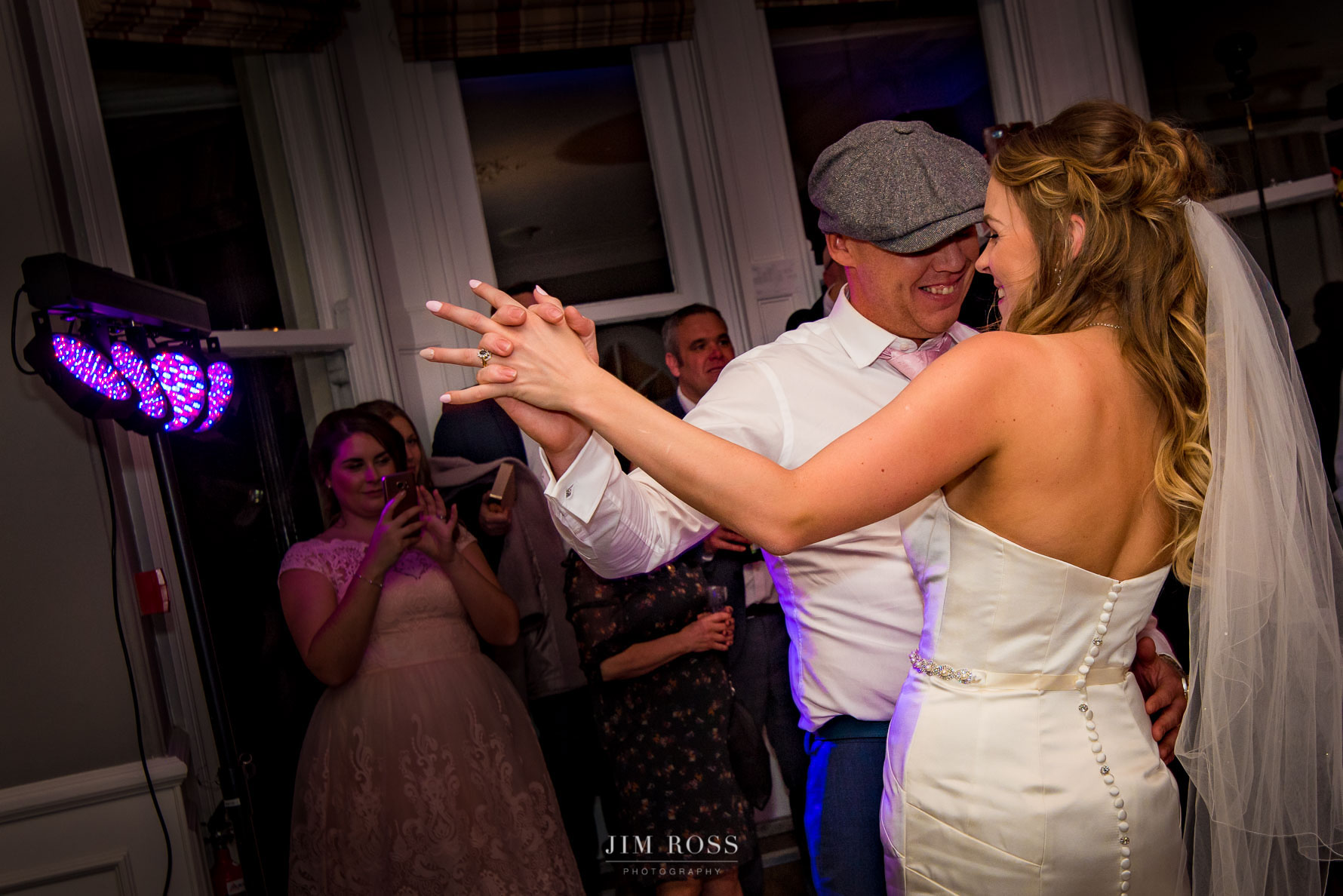 First dance at the Belsfield Hotel