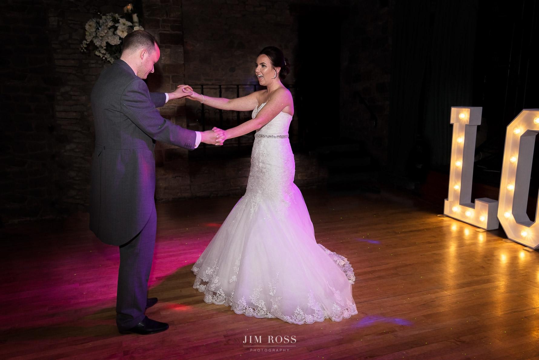Wedding first dance in Preston