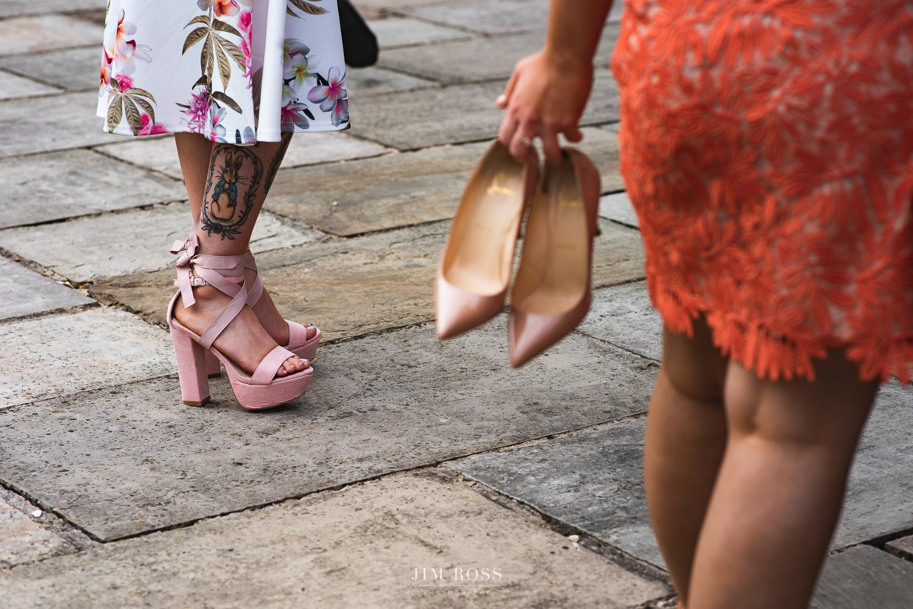 Wedding shoes come in all shapes and sizes