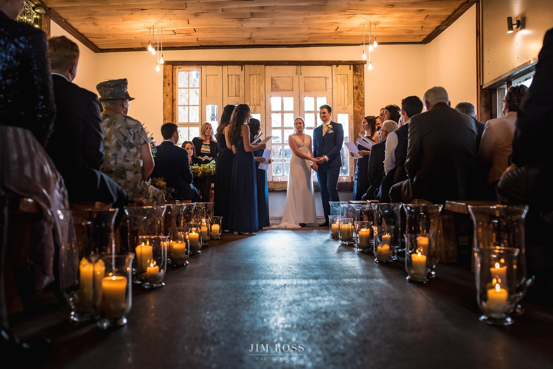 Bridesmaids deliver special ceremony speech