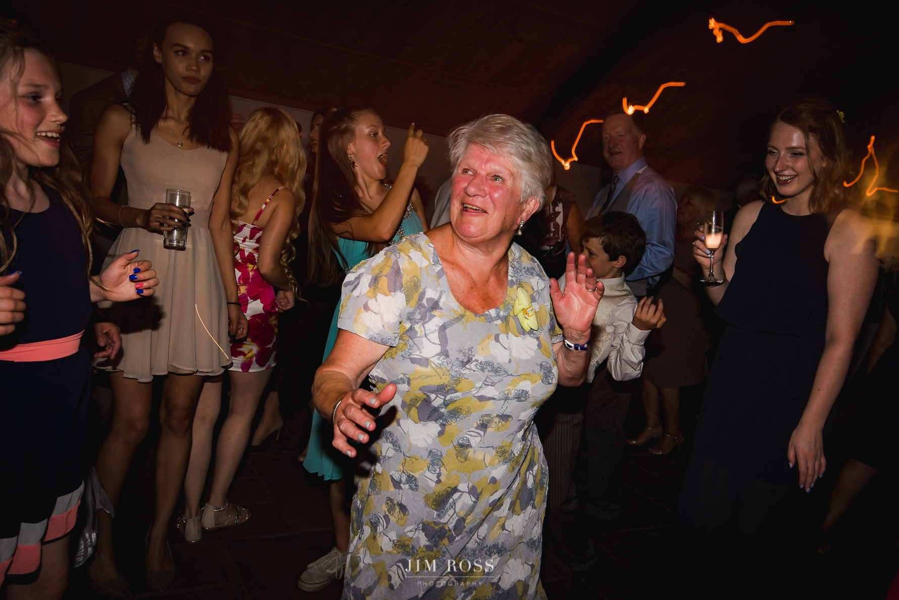 Gran getting her groove on