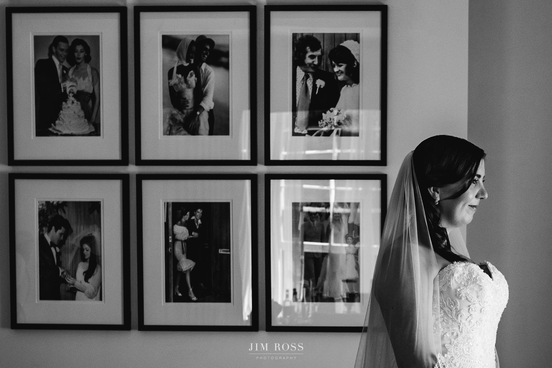 Bride in keen anticipation
