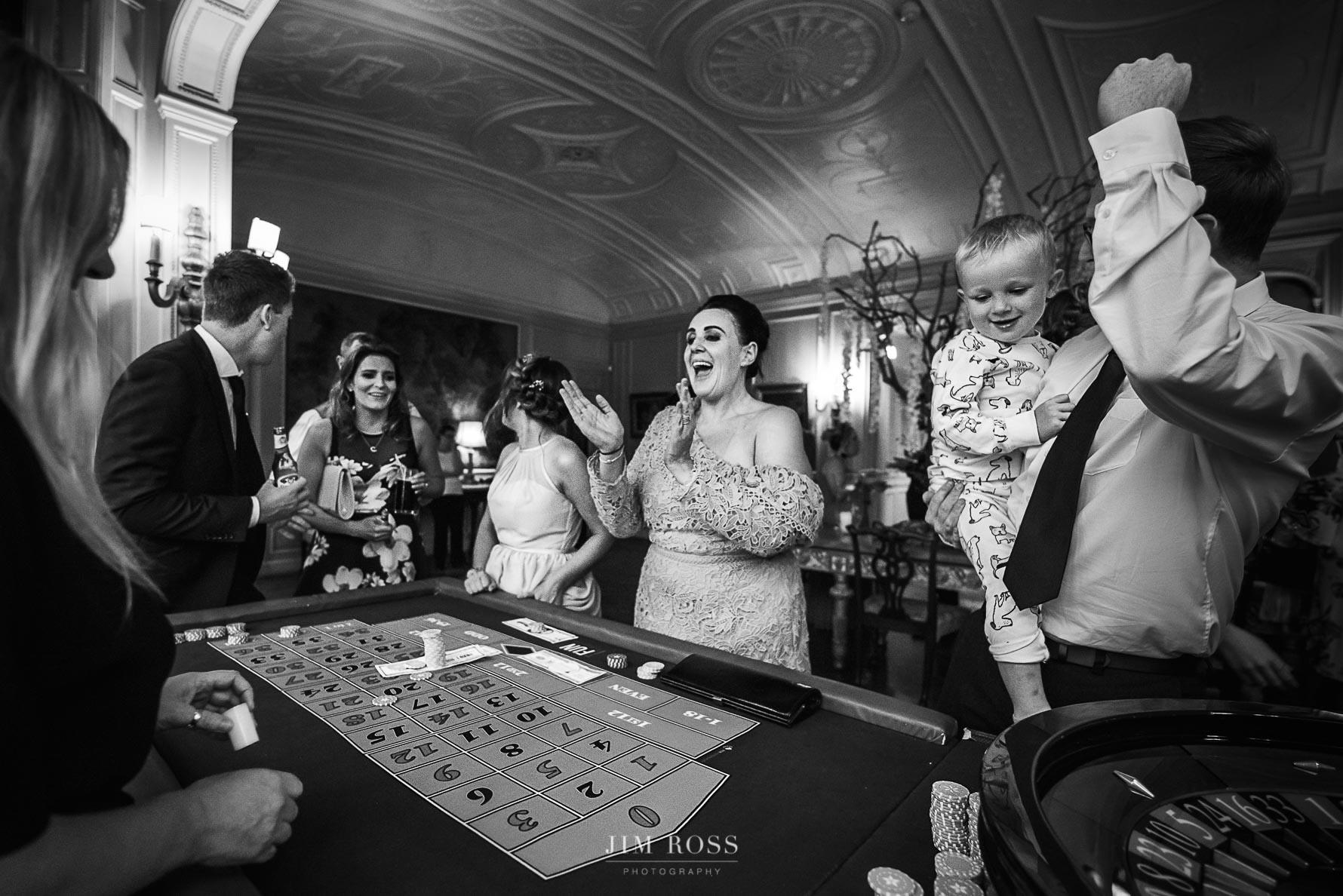 Casino fun at Thornton Manor
