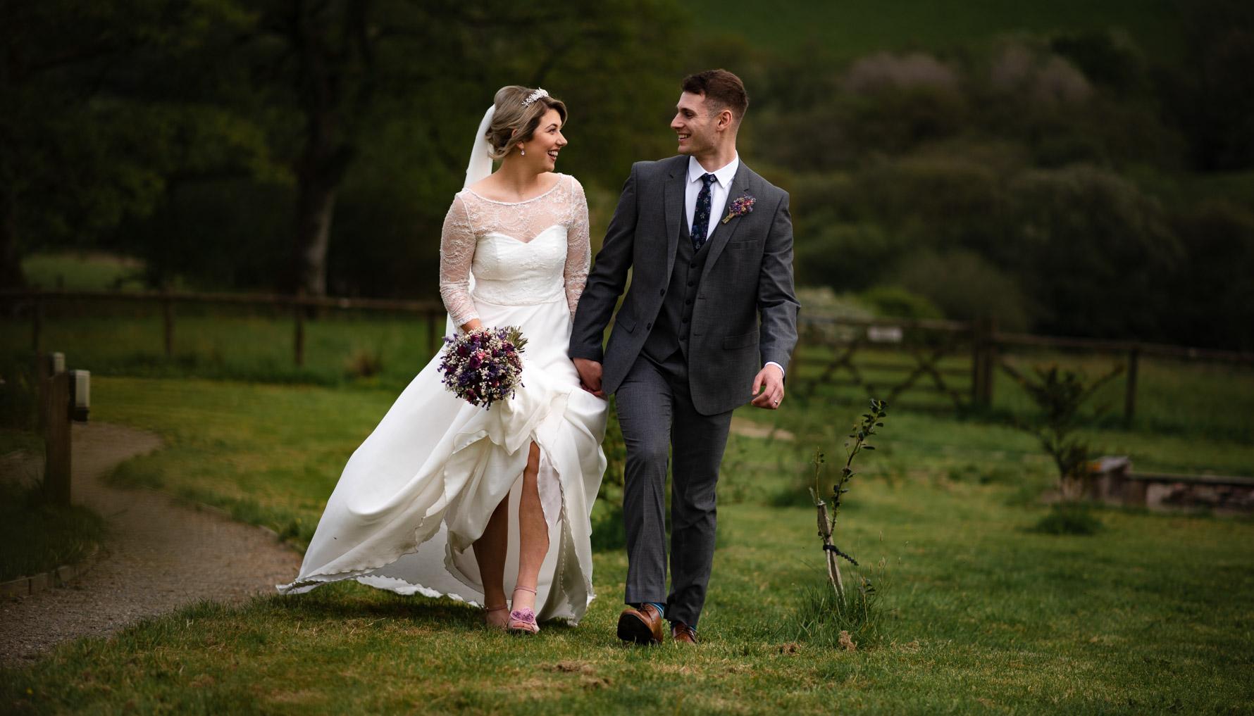 Fron Farm Wedding portrait