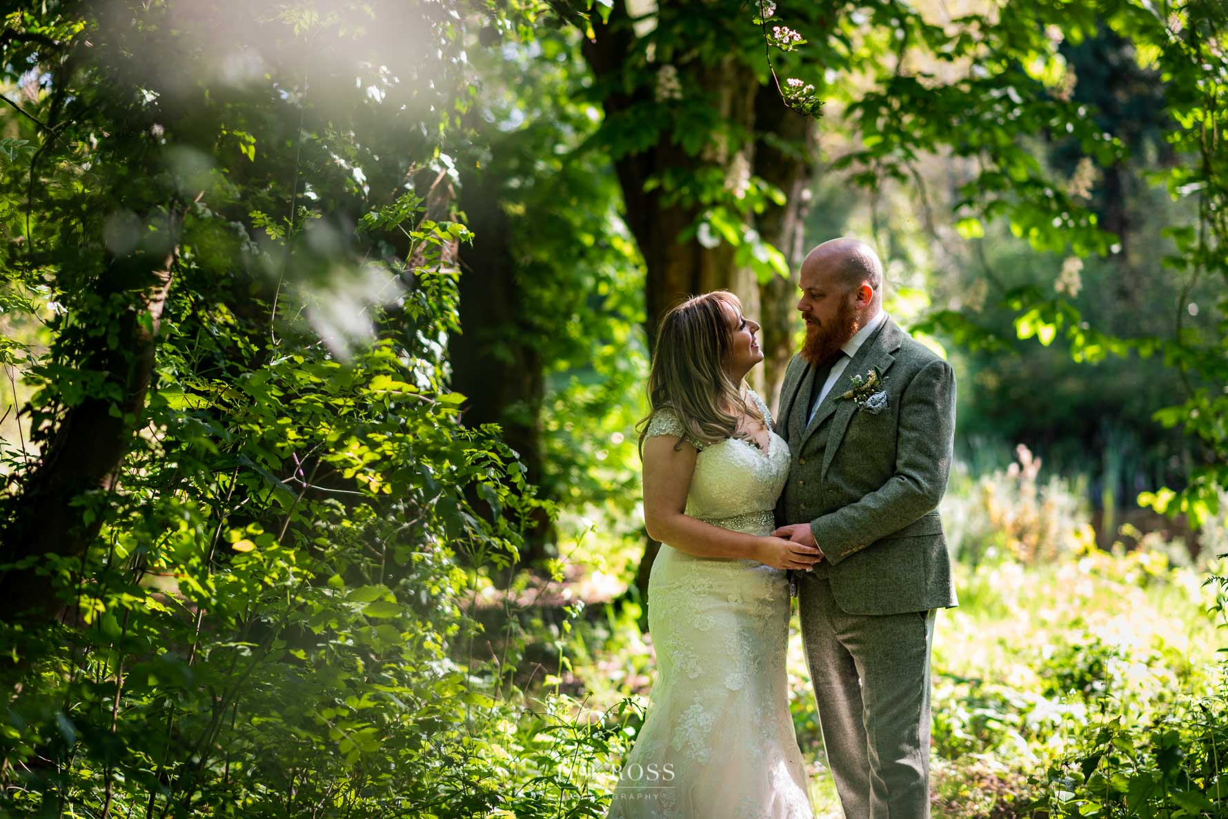 Oak Tree of Peover wedding portrait