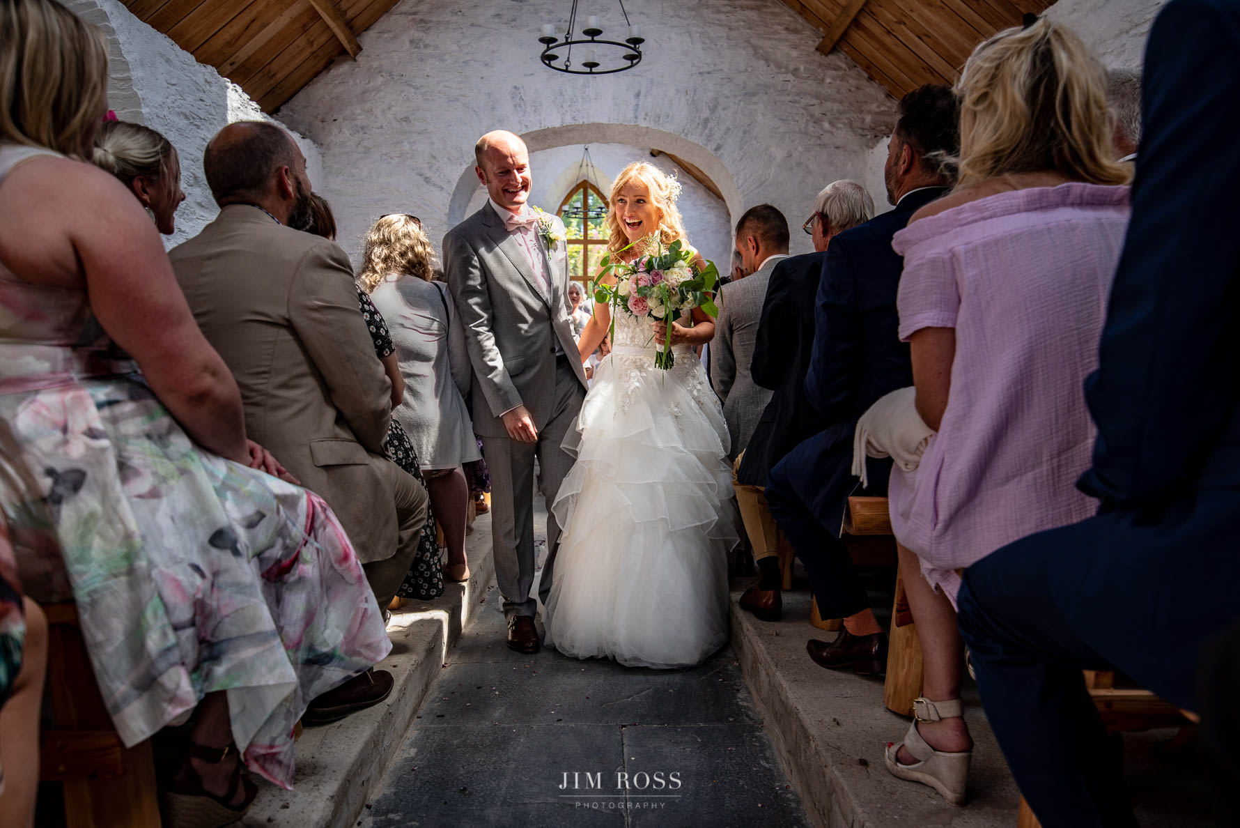 Recessional at Fron Farm medieval church