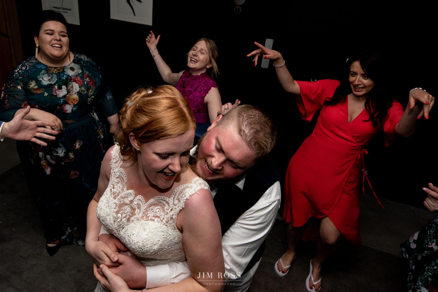 Delamere Manor wedding party