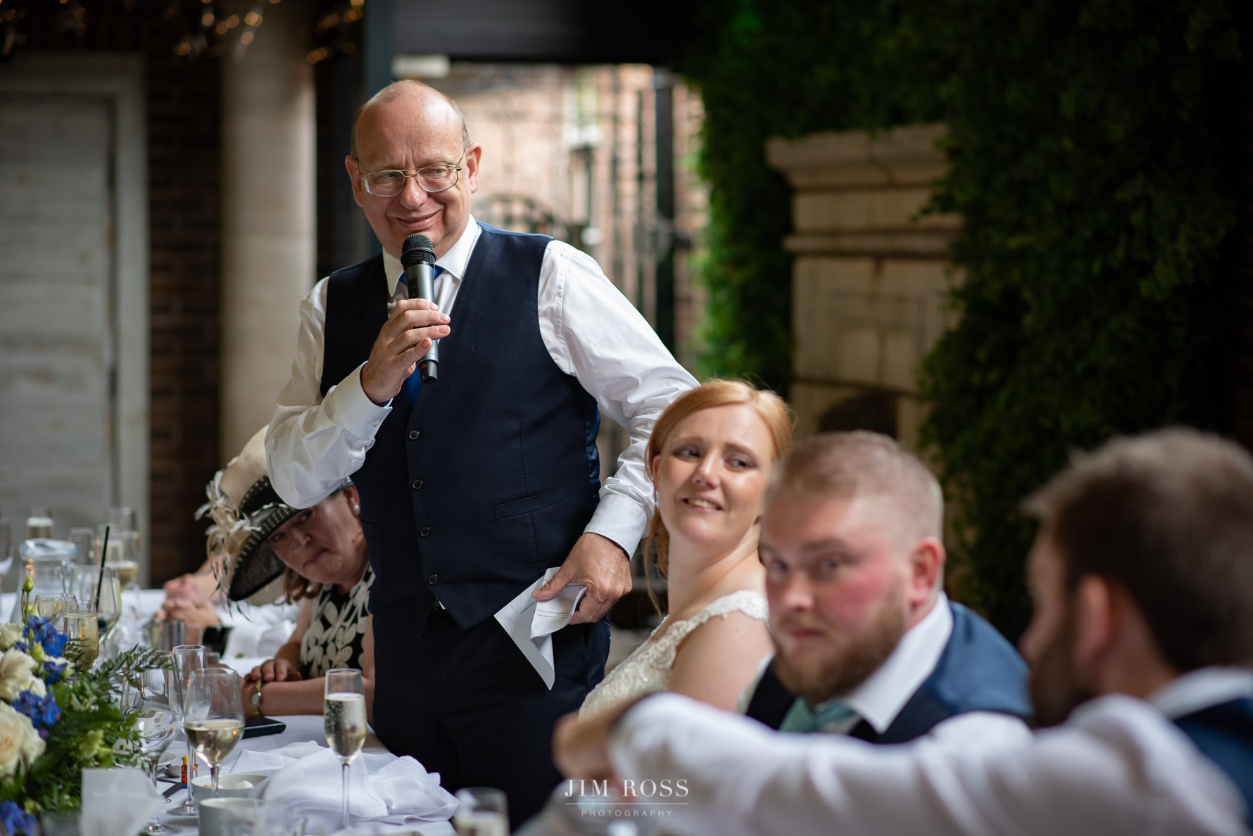 Father of the bride speech at Delamere Manor