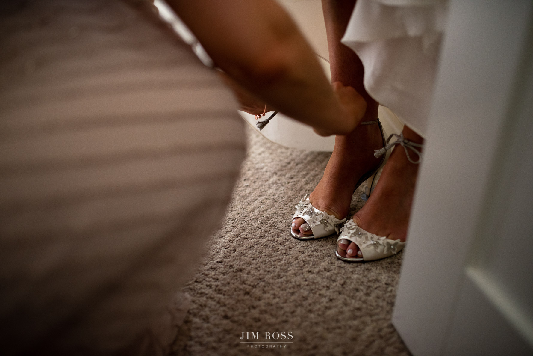 Help with the bride's shoes