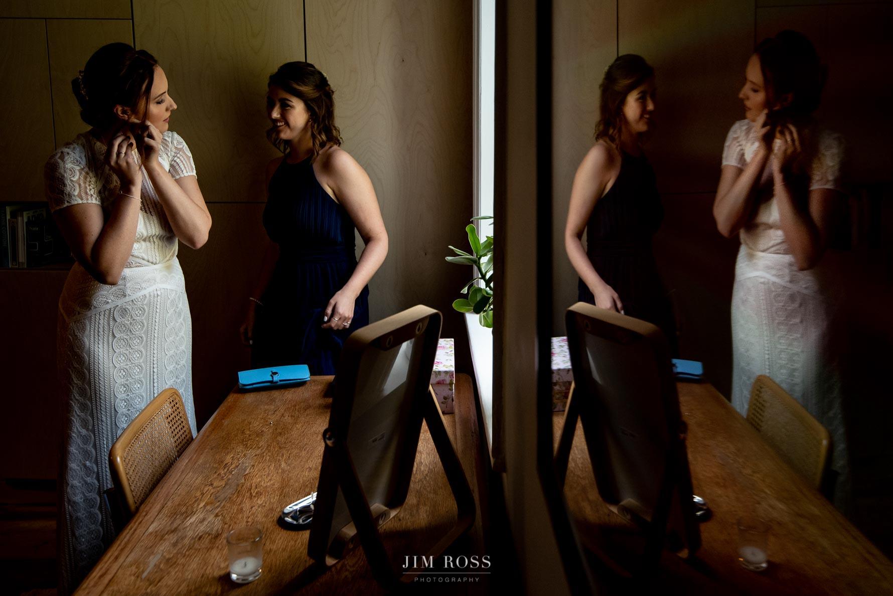 Milnrow bridal prep reflection