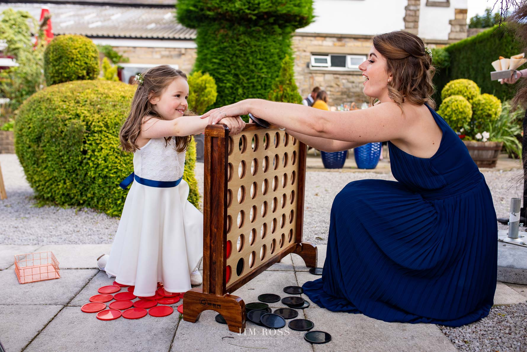 Connect Four wedding lawn games