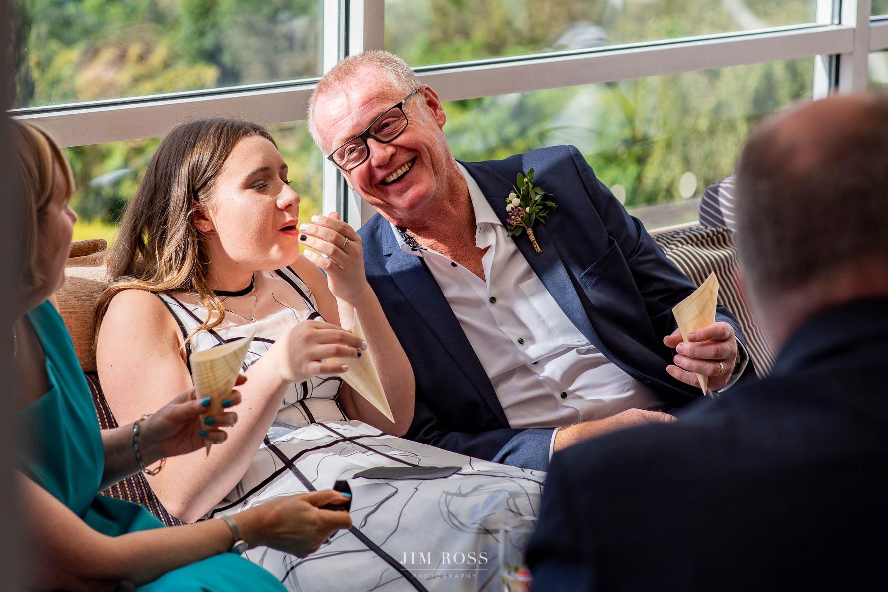 Bella Vista wedding guests
