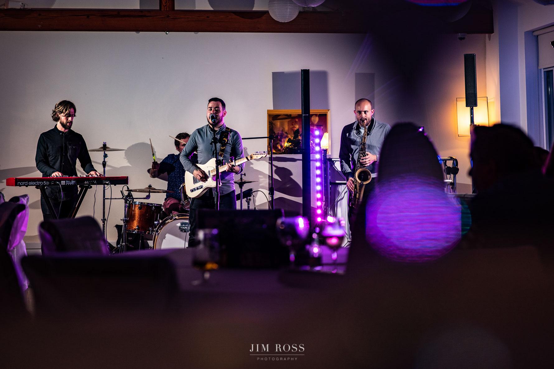 Colour Blue wedding band