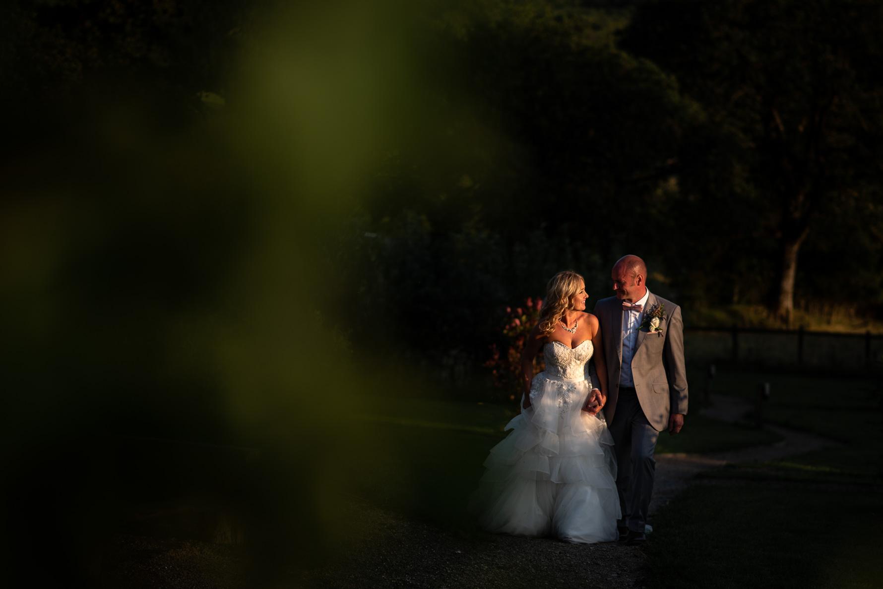 Manchester Wedding Photographer Green Field Portrait